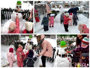 kolaz snehuliak